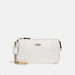COACH LARGE WRISTLET 19 - CHALK/LIGHT GOLD - F30258