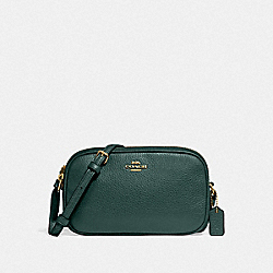 CROSSBODY POUCH - IM/EVERGREEN - COACH F30259