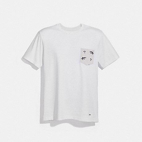COACH GRAPHIC T-SHIRT - WHITE - f30332