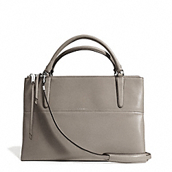COACH BOROUGH BAG IN RETRO GLOVE TAN LEATHER - UEWAM - F30348