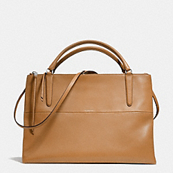 COACH THE RETRO GLOVE TAN LARGE BOROUGH BAG - UE/CAMEL - F30349