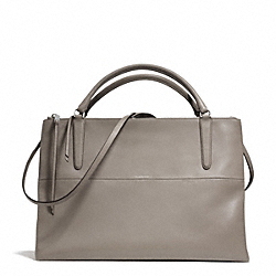 COACH THE LARGE BOROUGH BAG IN RETRO GLOVE TAN LEATHER - UEWAM - F30349