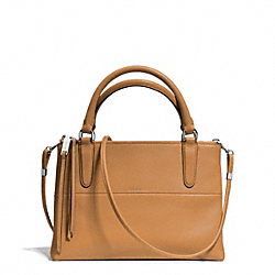 COACH THE RETRO GLOVE TAN MINI BOROUGH BAG - UE/CAMEL - F30351