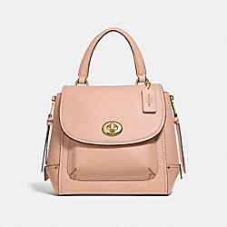 FAYE BACKPACK - NUDE PINK/LIGHT GOLD - COACH F30525