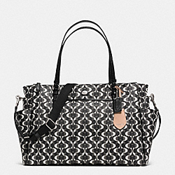 COACH PEYTON DREAM C MULITIFUNCTION TOTE - SILVER/BLACK/WHITE/BLACK - F30541
