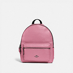 MEDIUM CHARLIE BACKPACK - QB/PINK ROSE - COACH F30550