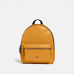 MEDIUM CHARLIE BACKPACK - QB/YELLOW - COACH F30550