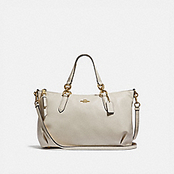 ALLY SATCHEL - IM/CHALK - COACH F30565