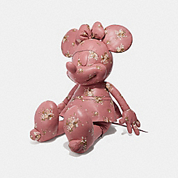 LARGE MINNIE MOUSE DOLL - VINTAGE PINK/MULTICOLOR - COACH F30855