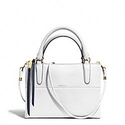 COACH THE EDGEPAINT LEATHER MINI BOROUGH BAG - GDCNK - F30984