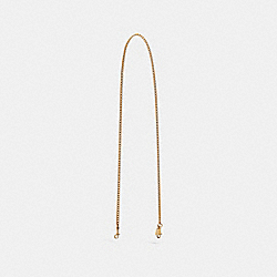 COACH CHAIN STRAP - GOLD/IMITATION GOLD - F31126