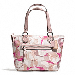 STAMPED SIGNATURE C SMALL TOTE - f31142 - 31006