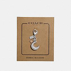 MOON CHARM - SILVER - COACH F31146