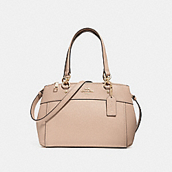 MINI BROOKE CARRYALL - NUDE PINK/IMITATION GOLD - COACH F31251