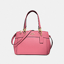 MINI BROOKE CARRYALL - PEONY/LIGHT GOLD - COACH F31251