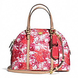 COACH PEYTON FLORAL DOMED SATCHEL - ONE COLOR - F31341