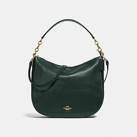 COACH ELLE HOBO - IVY/IMITATION GOLD - F31399