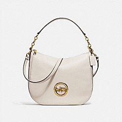 ELLE HOBO - CHALK/OLD BRASS - COACH F31400