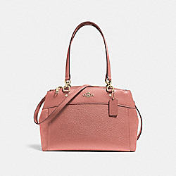 BROOKE CARRYALL - MELON/LIGHT GOLD - COACH F31418