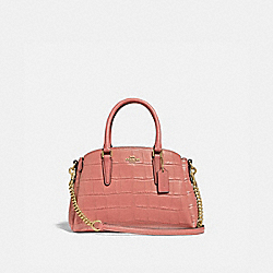 MINI SAGE CARRYALL - MELON/LIGHT GOLD - COACH F31438