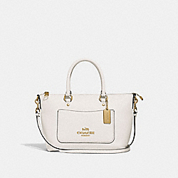 MINI EMMA SATCHEL - CHALK/IMITATION GOLD - COACH F31466
