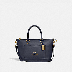 MINI EMMA SATCHEL - IM/MIDNIGHT - COACH F31466