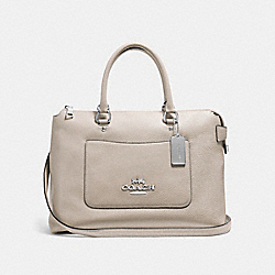 EMMA SATCHEL - GREY BIRCH/SILVER - COACH F31467