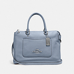 EMMA SATCHEL - STEEL BLUE - COACH F31467