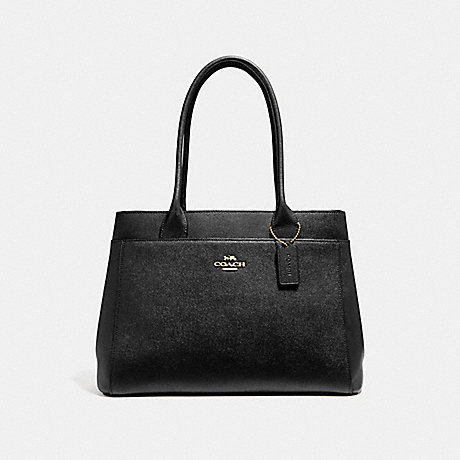 COACH CASEY TOTE - BLACK/LIGHT GOLD - F31474