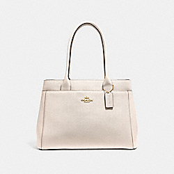 CASEY TOTE - f31474 - CHALK/LIGHT GOLD