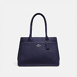 CASEY TOTE - MIDNIGHT/IMITATION GOLD - COACH F31474