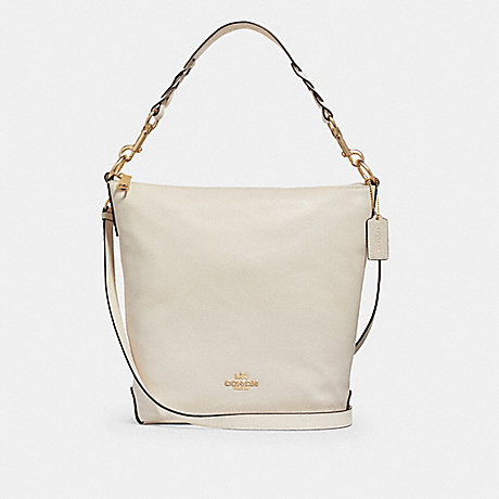 COACH ABBY DUFFLE - CHALK/LIGHT GOLD - F31507