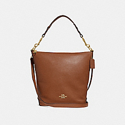 ABBY DUFFLE - SADDLE 2/LIGHT GOLD - COACH F31507