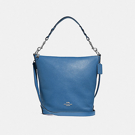 COACH ABBY DUFFLE - SKY BLUE/SILVER - F31507