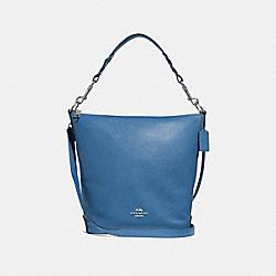 ABBY DUFFLE - SKY BLUE/SILVER - COACH F31507