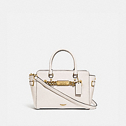 BLAKE CARRYALL 25 - CHALK/LIGHT GOLD - COACH F31525