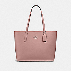 AVENUE TOTE - PETAL/STRAWBERRY/SILVER - COACH F31535