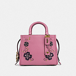ROGUE 25 WITH LEATHER SEQUIN APPLIQUE - B4/ROSE - COACH F31691