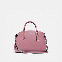 SAGE CARRYALL - DUSTY ROSE/SILVER - COACH F32017