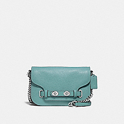 BLAKE CROSSBODY 20 - CLOUD/SILVER - COACH F32099