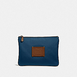MULTIFUNCTIONAL POUCH - BRIGHT NAVY - COACH F32174