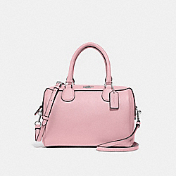 MINI BENNETT SATCHEL - CARNATION/SILVER - COACH F32202