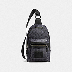 ACADEMY PACK IN SIGNATURE CANVAS - QB/CHARCOAL - COACH F32217