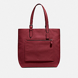 METROPOLITAN SOFT TOTE - QB/RED CURRANT - COACH F32248