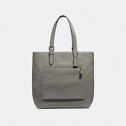 METROPOLITAN SOFT TOTE - QB/HEATHER GREY - COACH F32248
