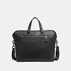 ACADEMY HOLDALL - BLACK/BLACK COPPER FINISH - COACH F32251