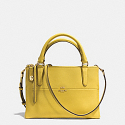 COACH THE MINI BOROUGH BAG IN SAFFIANO LEATHER - GDSAF - F32284