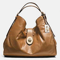 COACH MADISON XL LEATHER CARLYLE SHOULDER BAG - LID0E - F32328