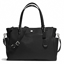 COACH PEYTON MULTIFUNCTION TOTE - SILVER/BLACK - F32461