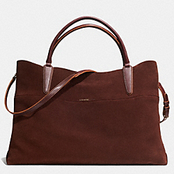 THE XL SOFT BOROUGH BAG IN SUEDE - GDPOR - COACH F32541